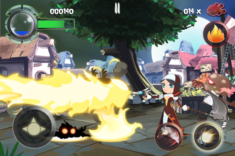 Twin Blades Lite screenshot #4