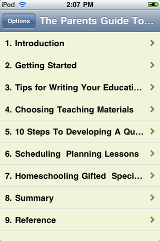 The Parents' Guide To Successful Homeschooling screenshot #1