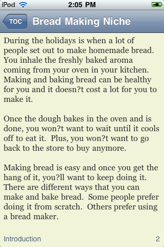 Bread Making image #1