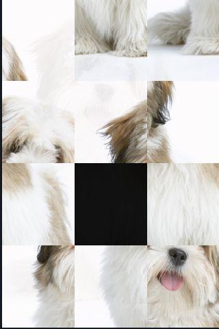 SlidePuzzle - Lhasa Apso screenshot #1