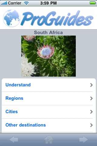 ProGuides - South Africa screenshot #1