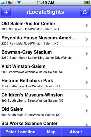 Winston-Salem, North Carolina Sights screenshot #2