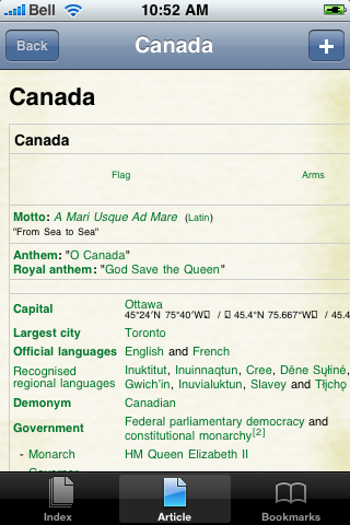 Canada Study Guide screenshot #1