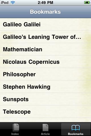 Galileo Galilei Study Guide screenshot #3