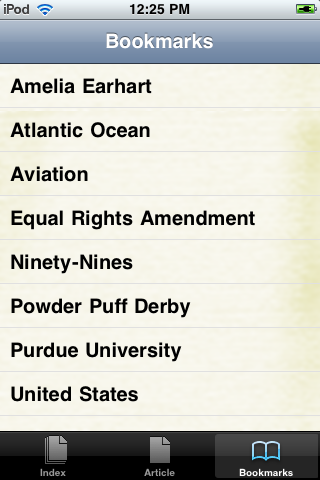 Amelia Earhart Study Guide screenshot #3