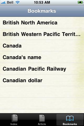 Canada Study Guide screenshot #2