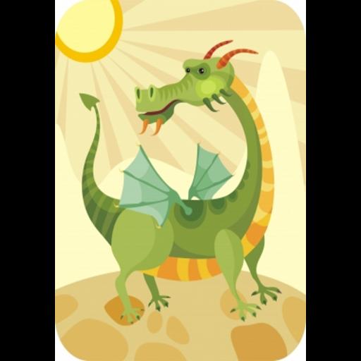 Magic Dragon Slide Puzzle