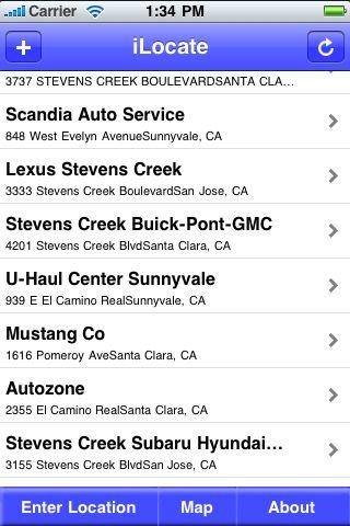 iLocate - Department Stores screenshot #1
