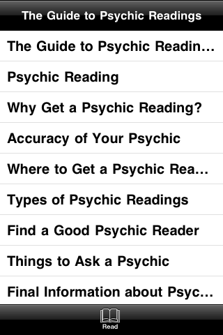The Guide to Psychic Readings screenshot #3