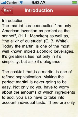 iGuides - The Perfect Martini screenshot #3