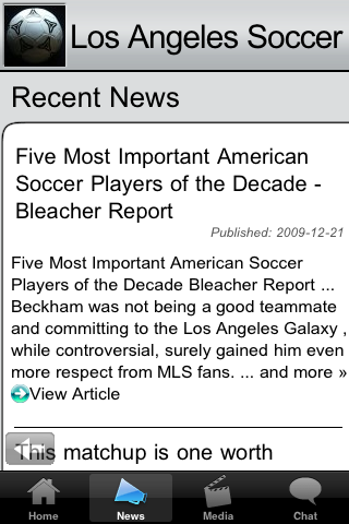 Soccer Fans - Los Angeles G screenshot #3