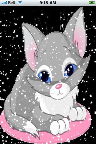 Kitty Cat Snow Globe screenshot #2