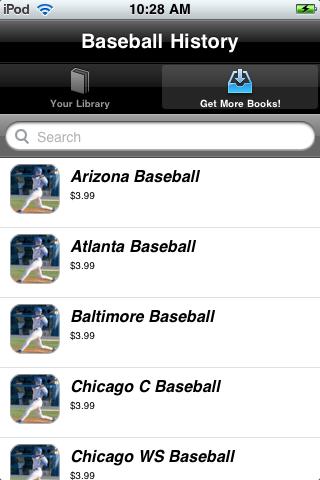 Baseball History screenshot #3