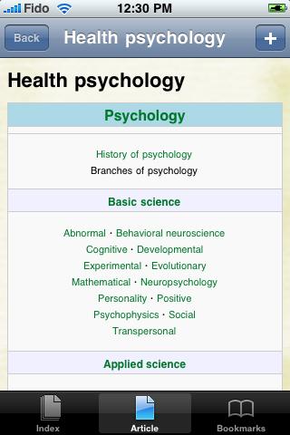 Health Psychology Study Guide screenshot #1