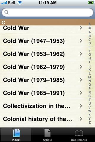 Cold War Study Guide screenshot #3