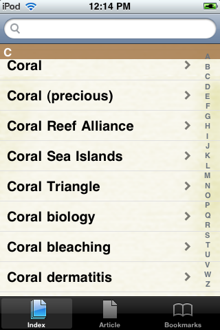 Coral Reefs Study Guide screenshot #2