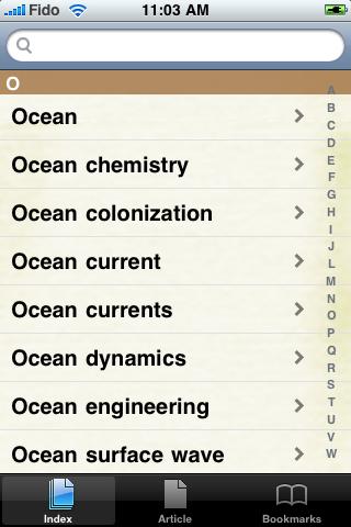 Oceanography Study Guide screenshot #2