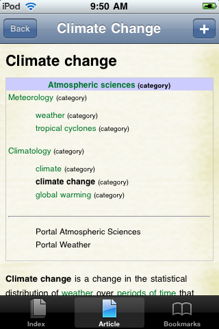 Climate Change Study Guide screenshot #1