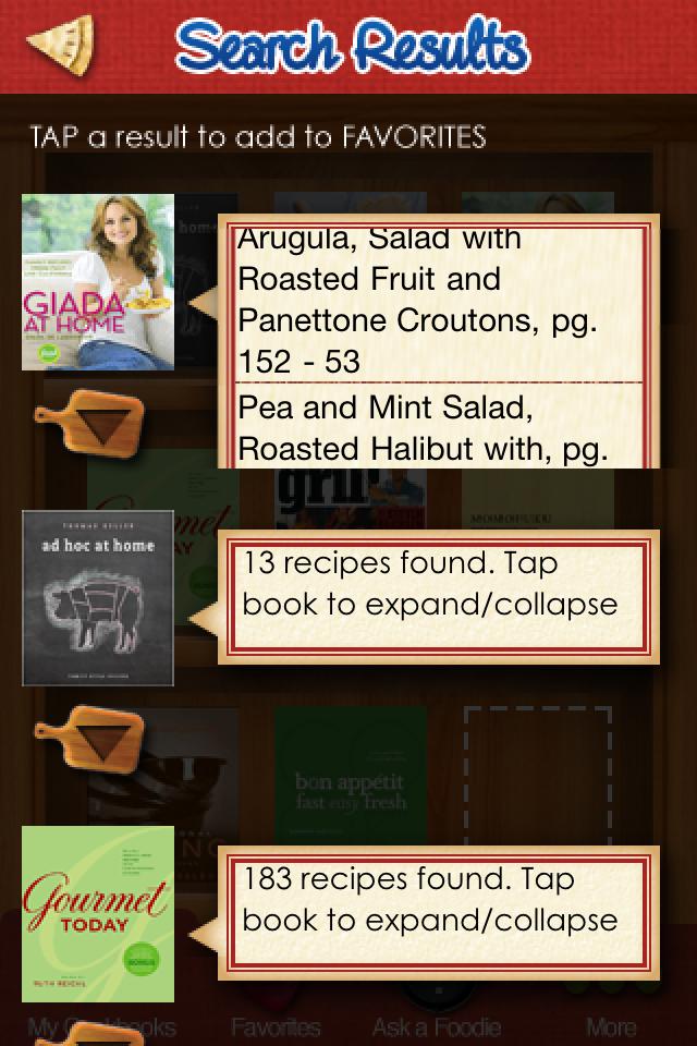 Cookbookie screenshot #1