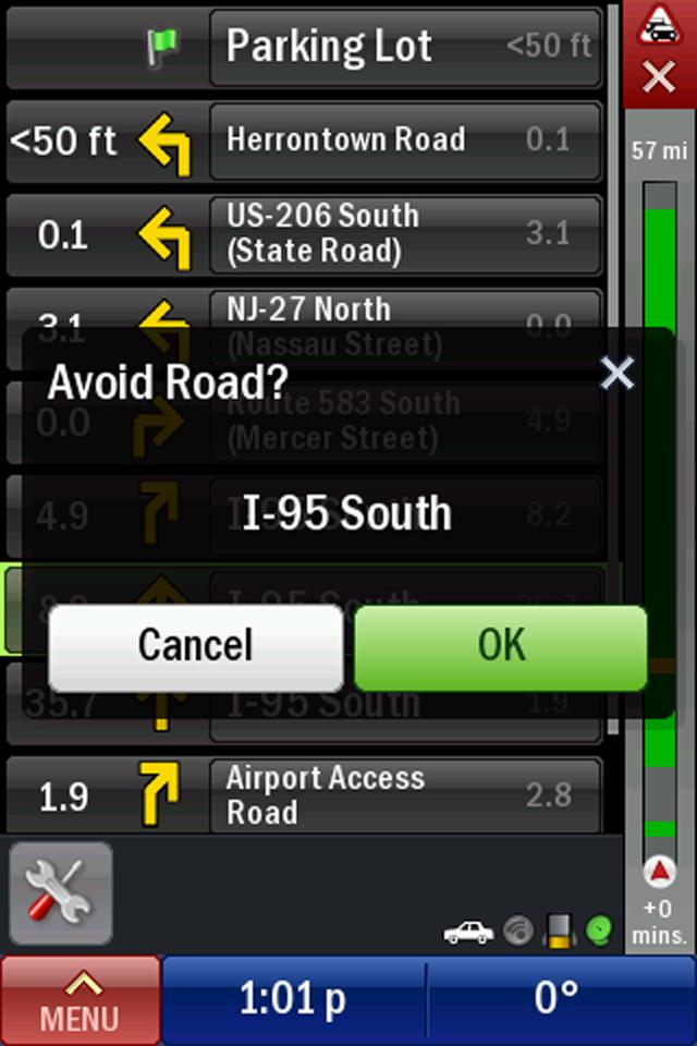 CoPilot Live North America screenshot 2
