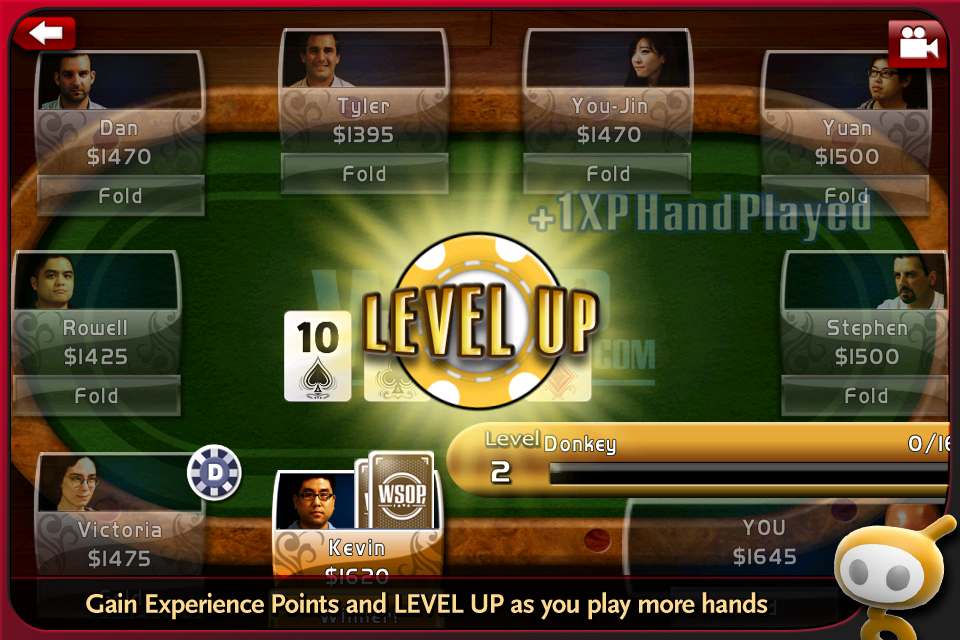 World Series of Poker Hold'em Legend Free screenshot #2
