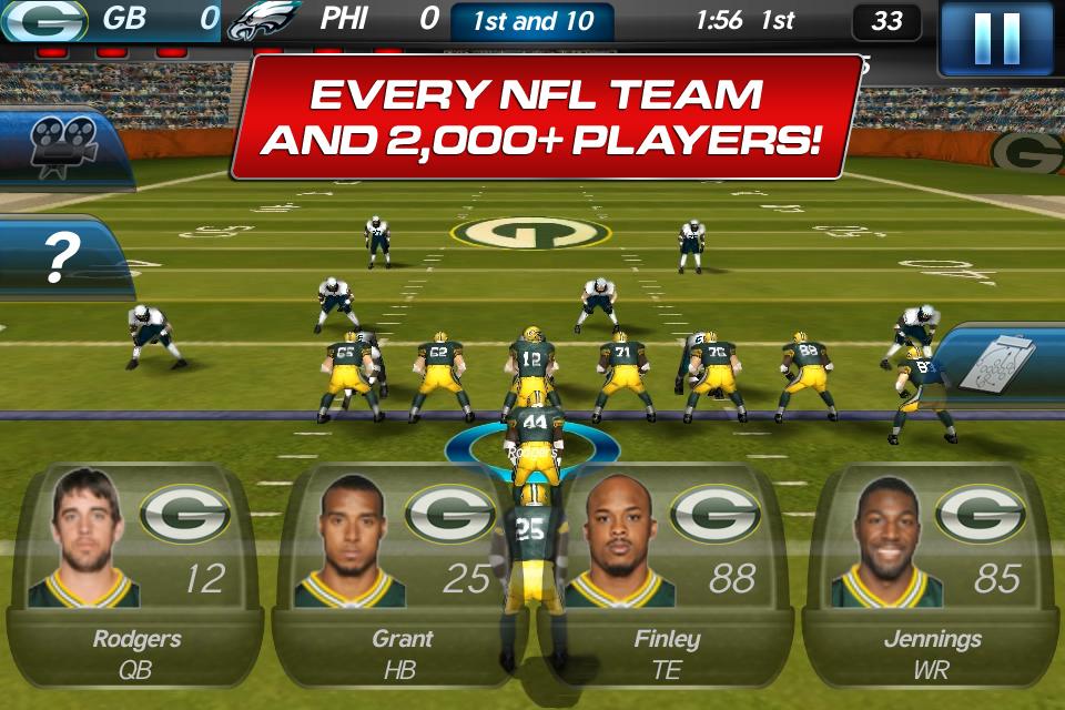 NFL Pro 2012 screenshot #2