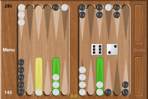 Backgammon screenshot 3