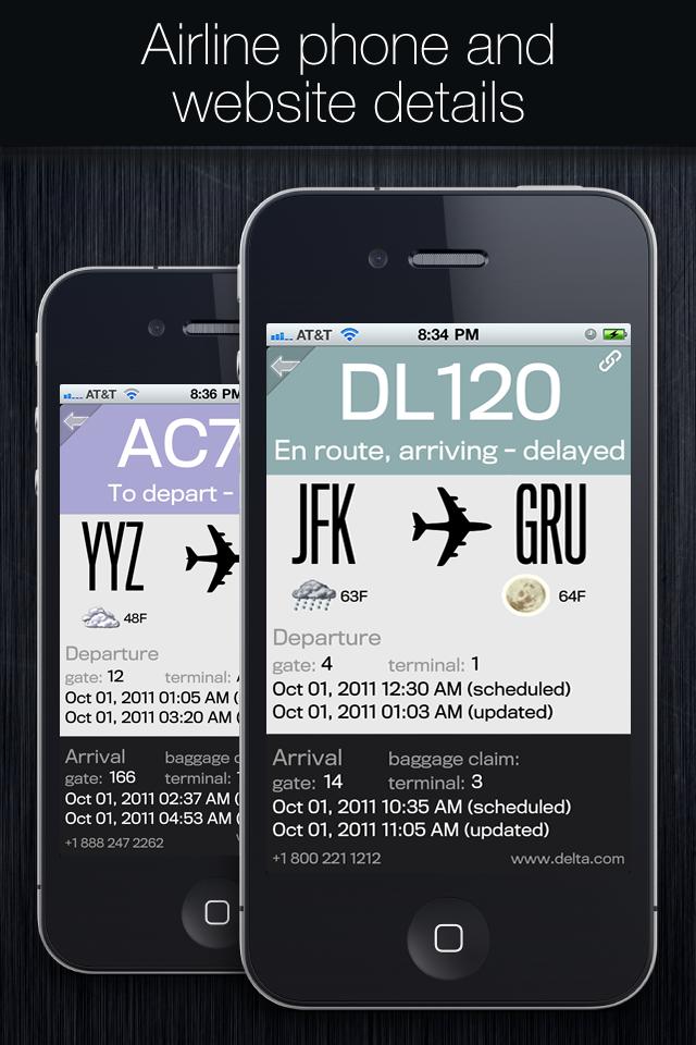 Flight Status+ screenshot #5