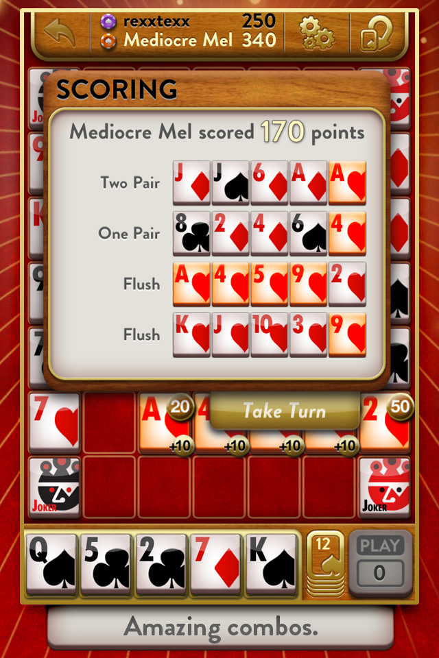 Poker Pals Free screenshot #4