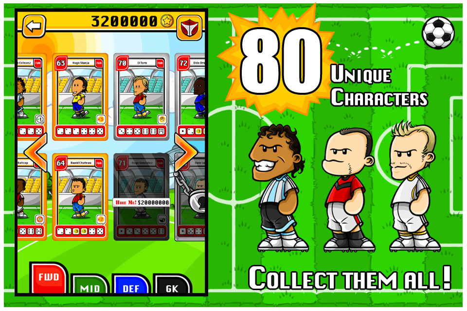Dice Soccer screenshot #1
