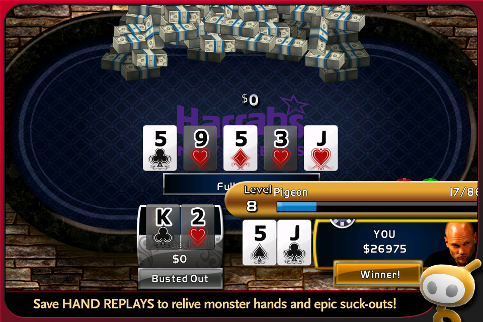 World Series of Poker Hold'em Legend Free screenshot #4