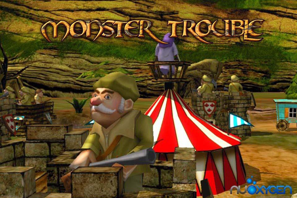 Monster Trouble HD screenshot 1