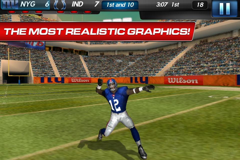 NFL Pro 2012 screenshot #4