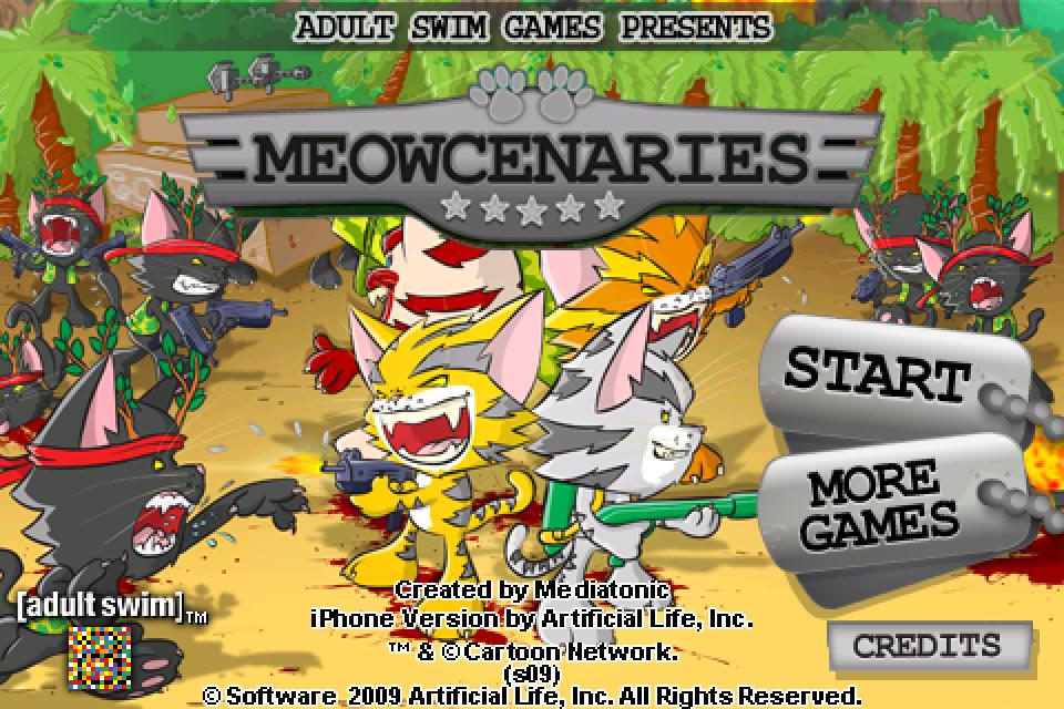 Meowcenaries screenshot #1