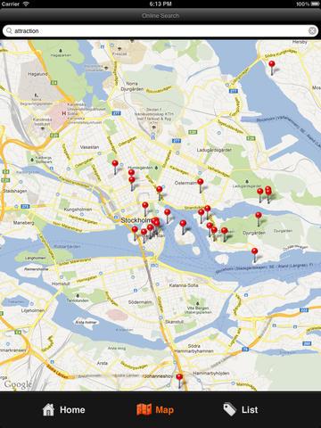 Stockholm Travel Map screenshot 7
