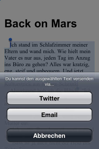 Invasion on Mars - Invasion auf dem Mars screenshot 5