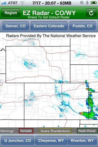 EZ Radar - CO/WY screenshot 3