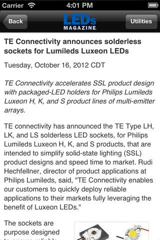 LEDs News and Event Guide - náhled