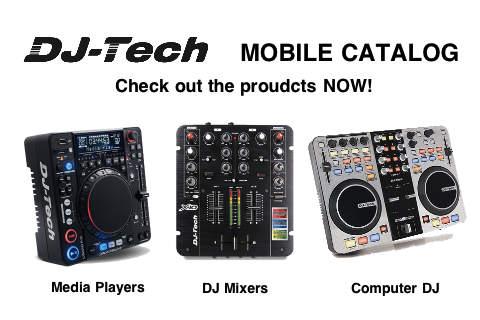 DJ Tech Mobile Catalog - náhled