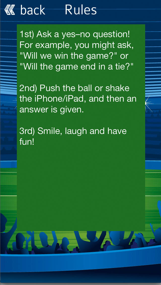 Soccer Oracle - Ask The Magic Football Genius screenshot 5