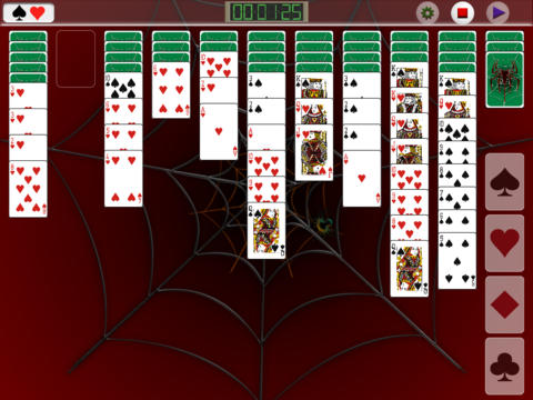 Touch Spider Soritaire PVD screenshot 7