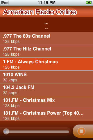 American Radio Online screenshot 1
