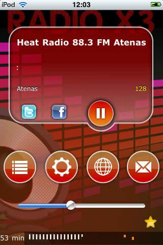 Ραδιόφωνα από την Ελλάδα - X3 Greece Radio screenshot 1