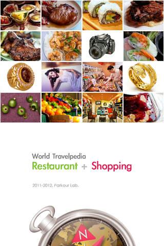 World Travelpedia - Restaurant & Shopping screenshot 1