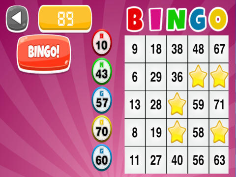 A Bingo Party Game: Big Bash Edition - Pro screenshot 4