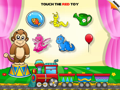 Abby - Toddler and Baby Train – Learning Colors Free screenshot 4