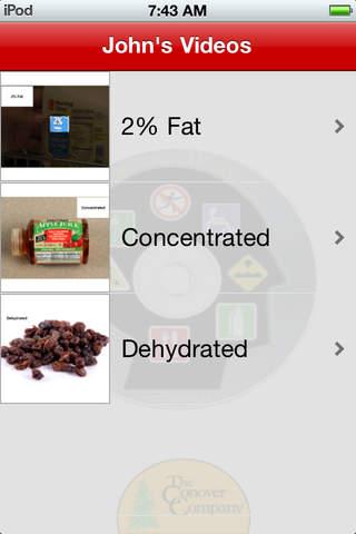 Information Labels screenshot 3