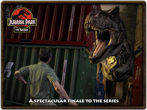 Jurassic Park: The Game 4 HD screenshot #5