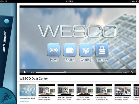 WESCO Data Center Application - náhled