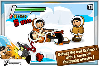 Ninja Penguin Rampage Lite screenshot 1
